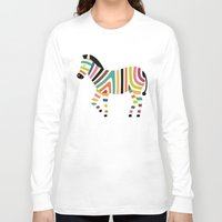 code Long Sleeve T-shirts featuring Magic code by Andy Westface
