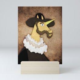 Ruffled Unicorn Mini Art Print