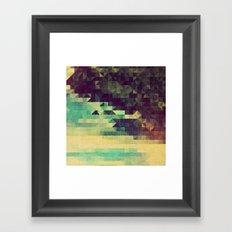 the midnight zone Framed Art Print