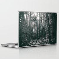 giants Laptop & iPad Skins featuring Walking among Giants by Slight Clutter
