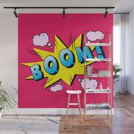 comics boom  Wall Mural