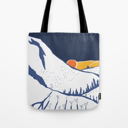 Mountain mysteries Tote Bag