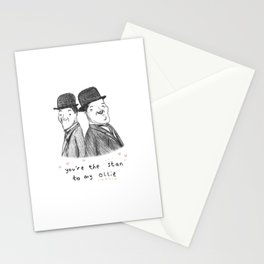 Laurel & Hardy Stationery Cards
