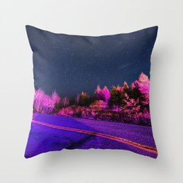 Emergency Skies Throw Pillow