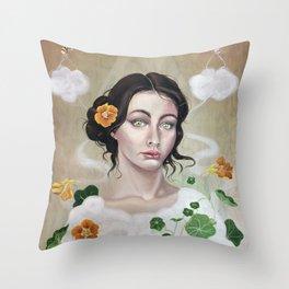 Unbearably Light Throw Pillow