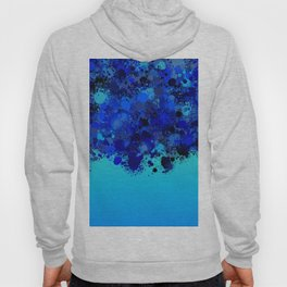 paint splatter on gradient pattern bl Hoody