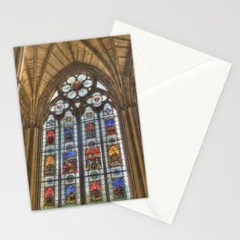 Windows of Westminster Abbey Stationery Cards
