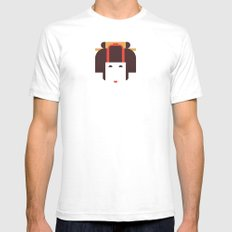 Japan Noble Woman Mens Fitted Tee SMALL White