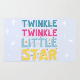 Twinkle Twinkle Little Star Rug
