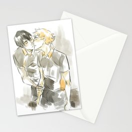 volleyball kiss Stationery Cards