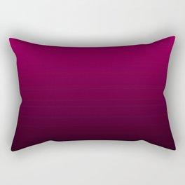 Black and Fuchsia Gradient Rectangular Pillow
