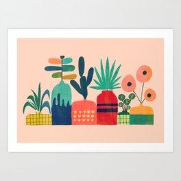 Plant mania Art Print