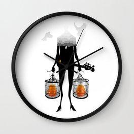 Twin Reverb Wall Clock