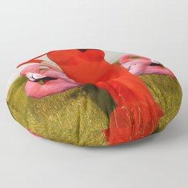 Divine, Pink Flamingos Floor Pillow