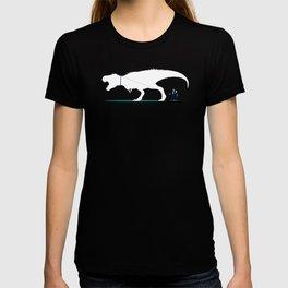 Walking the T-Rex T-shirt