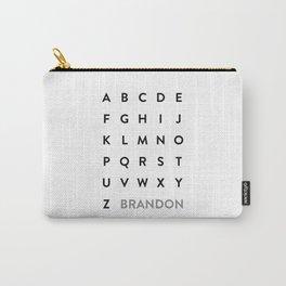 Brandon Grotesque Carry-All Pouch