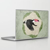 toucan Laptop & iPad Skins featuring Toucan by Aquamarine Studio