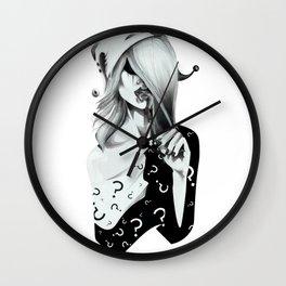 Gotham Masquerade II Wall Clock