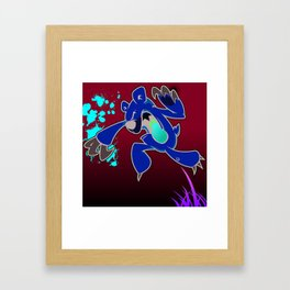 "illsurge : ""When Cute Bears Attack"" Piece Framed Art Print"