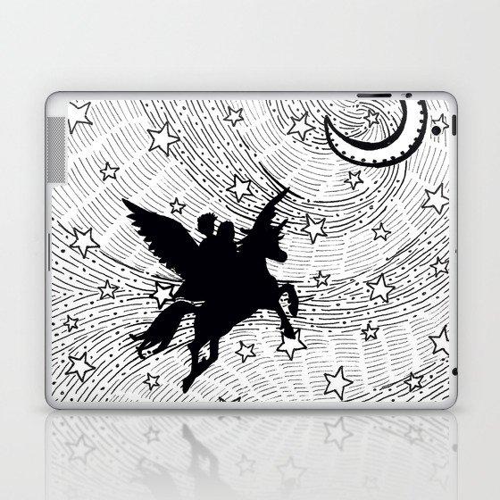 flight of the alicorn laptop ipad skin by shannonmessenger society6