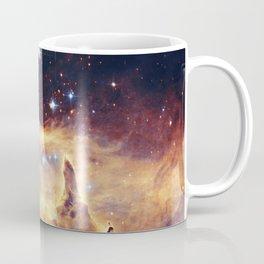 Core of diffuse nebula NGC 6357. Lobster Nebula. Coffee Mug