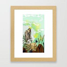 The High Priestess - Tarot Framed Art Print