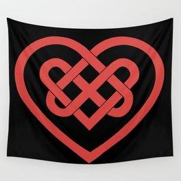 Celtic Heart (Dark) Wall Tapestry