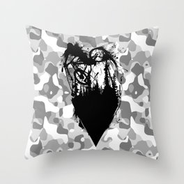 Whip Ink Throw Pillow