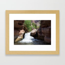 The Falls Framed Art Print