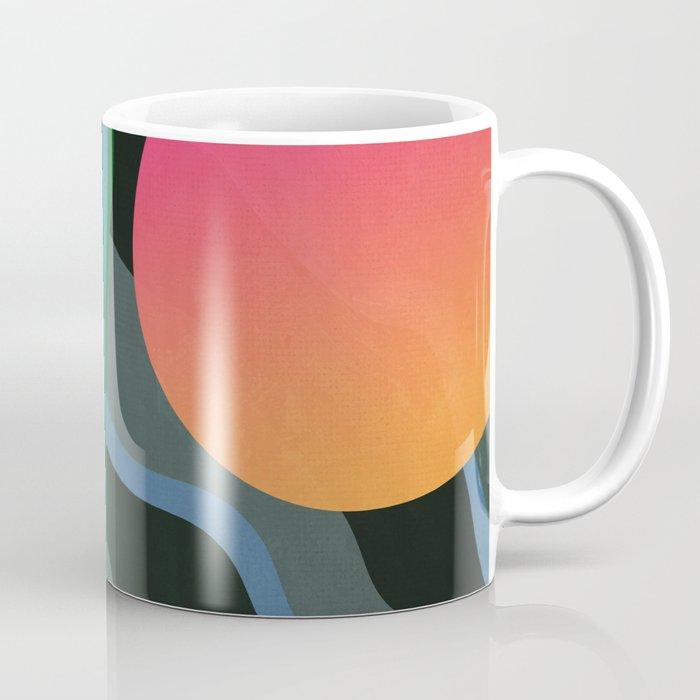 Crepuscular Streams Coffee Mug