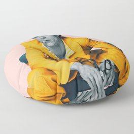pinky bowie 2 Floor Pillow