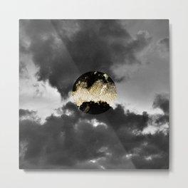 Mystical Moon #1 #gold #black #decor #art #society6 Metal Print