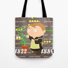 Gregor Mendel Tote Bag