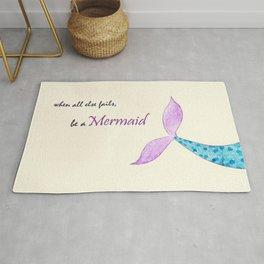 Be a Mermaid Rug