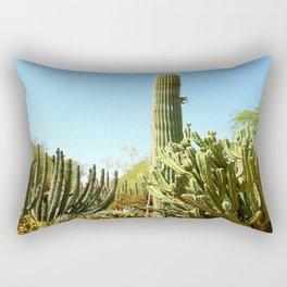 Desert Landscape Rectangular Pillow