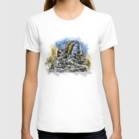 prague T-shirts featuring Prague Angel by jbjart