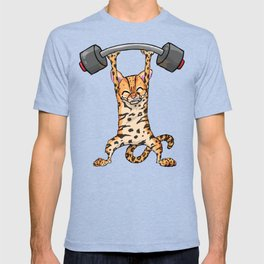 Ocelot Power Lifter T-shirt