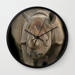 Rihno Love Art Wall Clock
