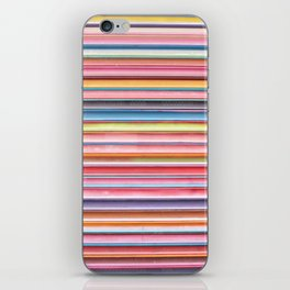 COLORFUL STRIPES iPhone Skin