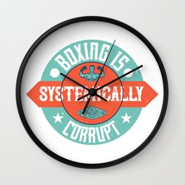 Boxing is systemically corrupt Wall Clock
