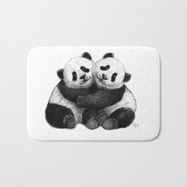 Panda's Hugs G143 Bath Mat