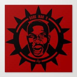 DMX - Dark Man X - Minimalist Poster Canvas Print