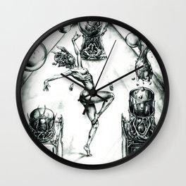 Ritual Of Life Wall Clock