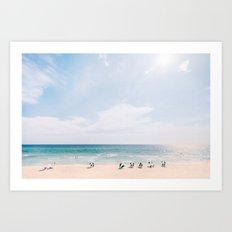 Beach Life II Art Print