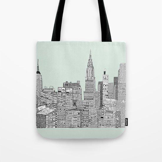 New York vintage  Tote Bag