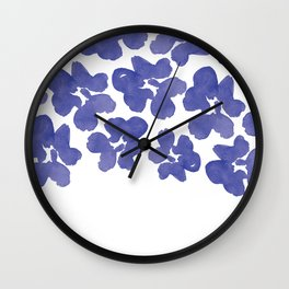 Sweet Pea's Petals  Wall Clock