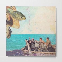 fisher Metal Print