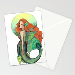 Atargatis, The First Mermaid Stationery Cards
