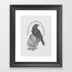 Wade Framed Art Print