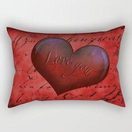 Love you Rectangular Pillow